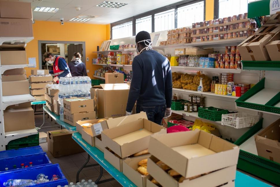coronavirus, aide alimentaire, urgence alimentaire, exclusion, sans abri, SDF, solidarité